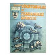 Almanahul vînătorului și pescarului sportiv 1990
