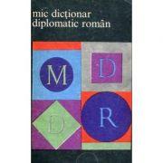 Mic dicționar diplomatic român