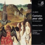 BACH: Cantates pour alto (CD)