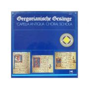 Chants gregoriens - anthologie du chant gregorien ( 4 discuri vinil )