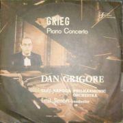 Edvard GRIEG: Concertul pentru pian si orchestra in La minor, Op. 16 ( disc vinil )