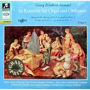 HANDEL: 16 Konzerte fur Orgel und Orchester (vinil )
