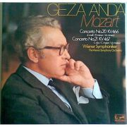 MOZART: Concerto fur Piano No. 20 & No. 21 (vinil )