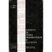 Elemente de teoria probabilitatilor si statistica. Proiect de manual pentru clasa a XII-a