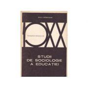 Studii de sociologie a educației