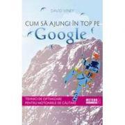 Cum să ajungi în top pe Google. Tehnici de optimizare pentru motoarele de căutare