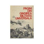 Pagini din gîndirea militară universală ( vol. III - De la războiul Crimeii la cel de-al doilea război mondial )