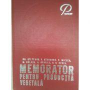 Memorator pentru producția vegetală