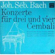 BACH: Konzerte fur drei und vier Cembali BWV 1064 / 1060 / 1065 (vinil)