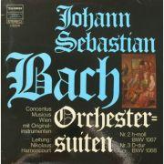 BACH: Orchester-suiten Nr. 2 BWV 1067 & Nr. 3 BWV 1068 (vinil )