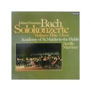 BACH - Solokonzerte fur Violine, Flote, Oboe ( set 2 viniluri )