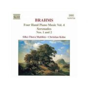 BRAHMS: Four Hand Piano Music Vol. 2 ( Hungarian Dances, Liebeslieder Waltzes - CD )