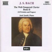 BACH: The Well-Tempered Clavier Book II ( 24 Preludes and Fugues - 2 CD )