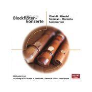 VIVALDI / HANDEL / TELEMAN / MARCELLO / SAMMARTINI: Blockflotenkonzerte ( CD )