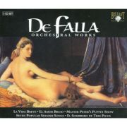 DE FALLA: Orchestral Works ( 3 CD )