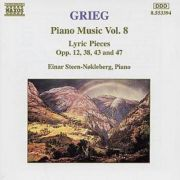 GRIEG: Piano Music Vol. 8 ( Lyric Pieces - CD )