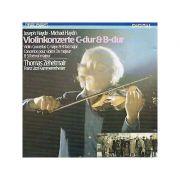 J. HAYDN / MICHAEL HAYDN: Violinkonzerte C-dur & B-dur ( CD )