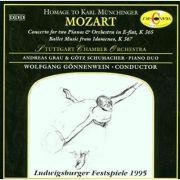 MOZART: Konzert fur zwei Klaviere und Orchester * Balletmusik zur Oper 'Idomeneo' KV 367 ( CD )