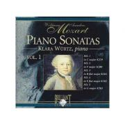 MOZART: Piano Sonatas vol. 1 ( CD )