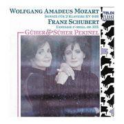 MOZART / SCHUBERT: Sonate fur 2 Klaviere KV 448 * Fantasie F-Moll, op. 103 ( CD )