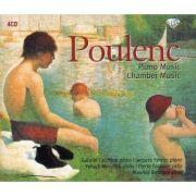 POULENC: Piano Music / Chamber Music ( 4 CD )