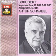 SCHUBERT: Impromptus, D. 899 & D. 935 / Allegretto, D. 915 ( CD )