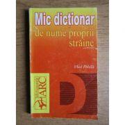 Mic dicționar de nume proprii străine