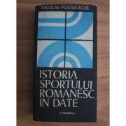 Istoria sportului românesc în date