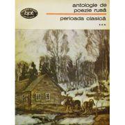 Antologie de poezie rusă. Perioada clasica ( vol. 3 )