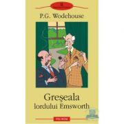 Greșeala lordului Emsworth