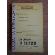 M. Eminescu - coordonate istorice și stilistice ale creației