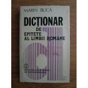 Dicționar de epitete al limbii române