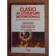 Clasici ai literaturii motivaționale ( Russel H. Cornwell, W. G. Jordan, James Allen )