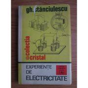 Experiențe de electricitate