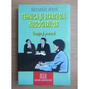 Tehnica și strategia negocierilor. Uzanțe și protocol