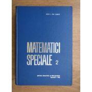Matematici speciale ( vol. 2 )