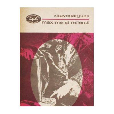 Maxime şi reflecţii