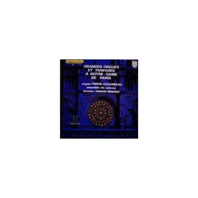 Grandes orgues et fanfares a Notre-dame de Paris ( disc vinil )