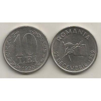 Monedă 10 LEI 1990-1992
