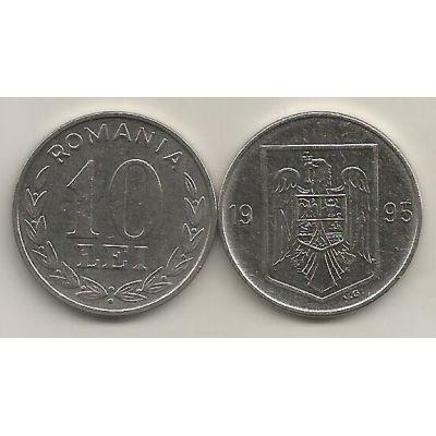 Monedă 10 LEI 1994-1995