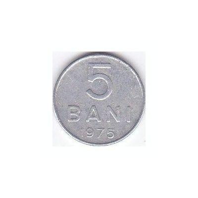 Moneda 5 BANI 1975