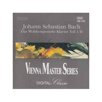 BACH - The Well-Tempered Piano, Vol. 1/II (CD )