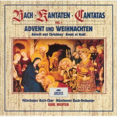 BACH: Kantaten zur Weihnachtszeit (CD)