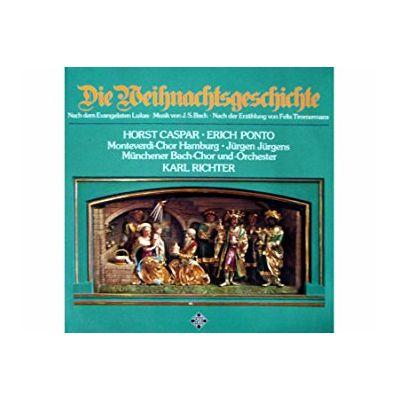 BACH - TIMMERMANS: Die Weihnachtsgeschichte ( disc vinil )
