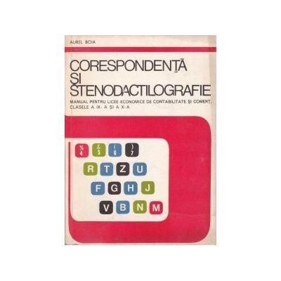 Corespondență și stenodactilografie - manual