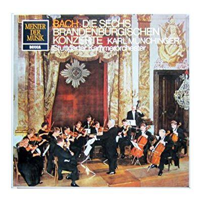 BACH: Brandenburgische Konzerte Nr. 1 - 6 ( 2 discuri vinil )
