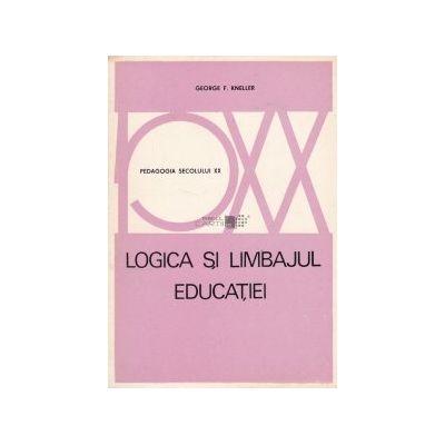 Logica și limbajul educației
