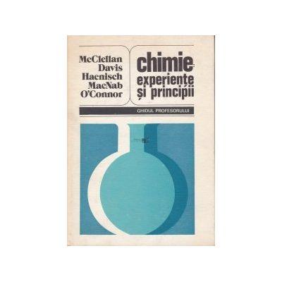 Chimie: experiențe și principii. Ghidul profesorului