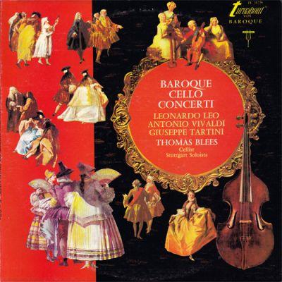 VIVALDI / LEO / TARTINI: Baroque Cello Concerti (vinil)