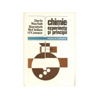 Chimie: experiențe și principii. Manual de laborator
